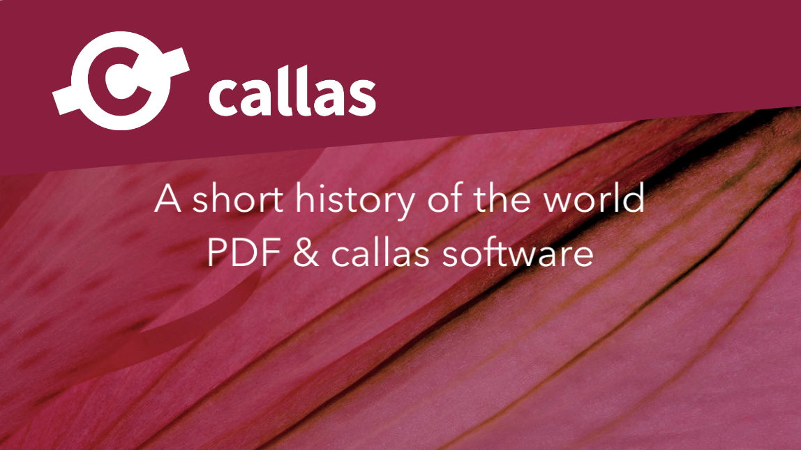 A short history of the world - PDF & callas software