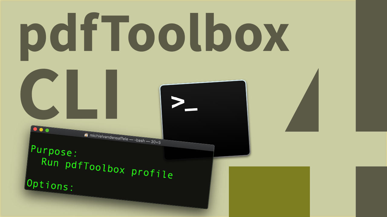 How to use pdfToolbox CLI