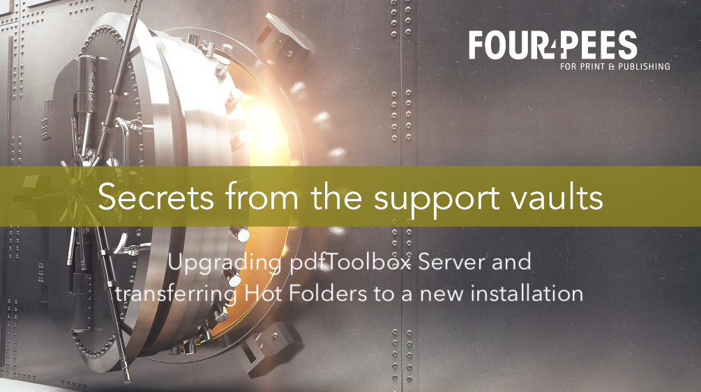 Webinar - Upgrading pdfToolbox Server and transferring Hot Folders to a new installation